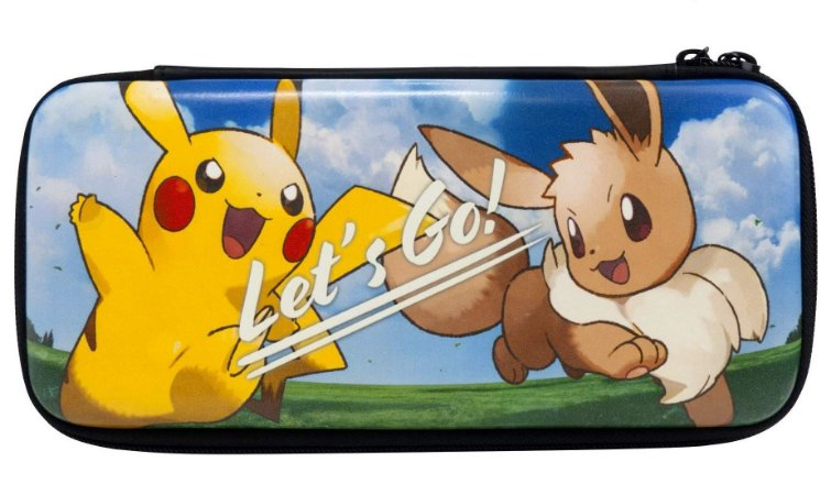 Deluxe Case Pokemon Let's Go Pikachu/Eevee Switch - Hori