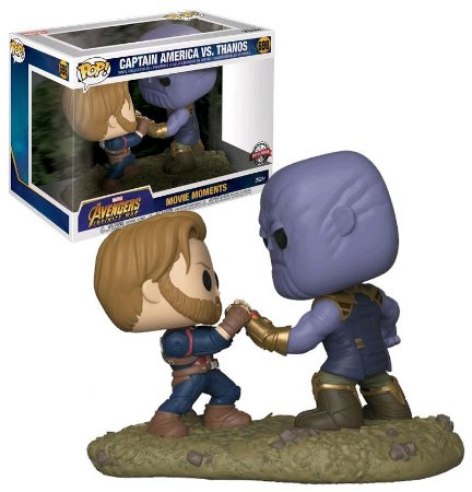 Funko Pop Avengers Infinity War 698 Captain America vs. Thanos