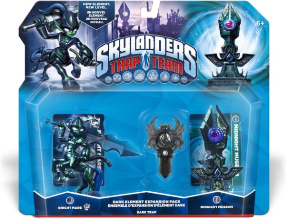 Skylanders Trap Team Midnight Museum Dark Expansion Pack