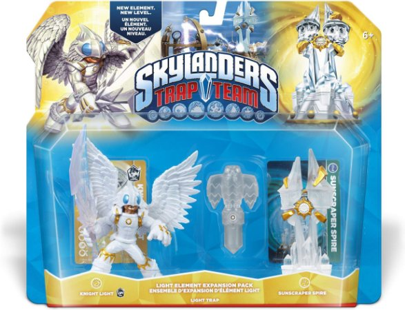 Skylanders Trap Team Sunscraper Spire Light Expansion Pack