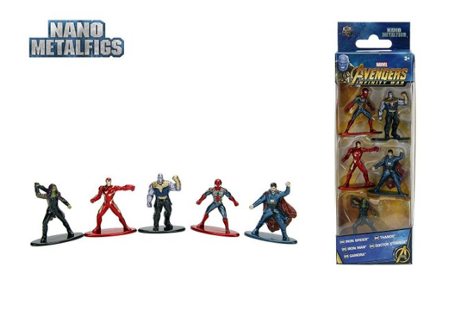 Nano Metalfigs Marvel Avengers Infinity War Wave 1 Kit