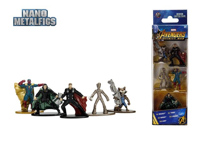Nano Metalfigs Marvel Avengers Infinity War Wave 2 Kit