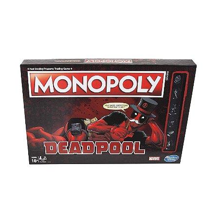 Monopoly Marvel Deadpool Edition - Hasbro (Inglês)