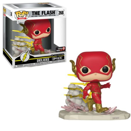 Funko Pop Dc 268 The Flash Deluxe Jim Lee Collection Exclusive