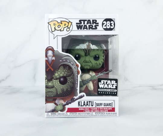 Funko Pop Star Wars 283 Klaatu Skiff Guard Exclusive