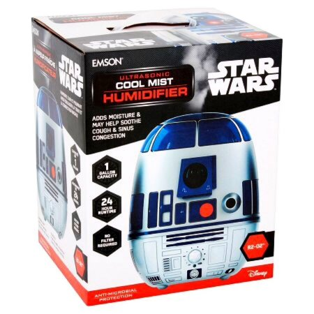 Umidificador Disney Cool Mist Star Wars R2-D2 R2d2 - Emson