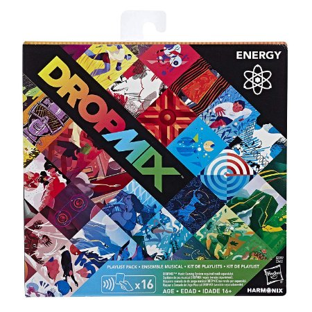 DropMix Playlist Pack 16 cartas - Energy
