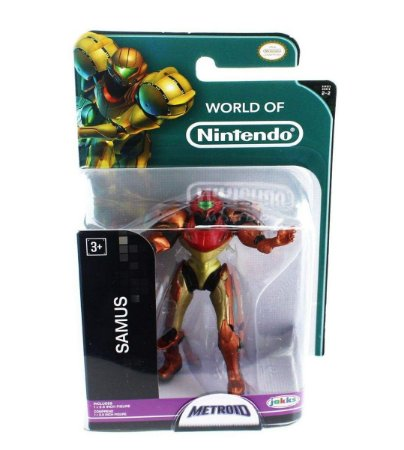 World of Nintendo Metroid Samus Mini Figure - Jakks