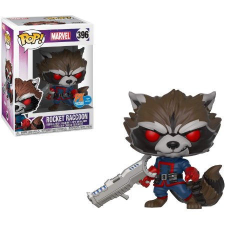 Funko Pop Marvel 396 Rocket Raccoon PX Exclusive