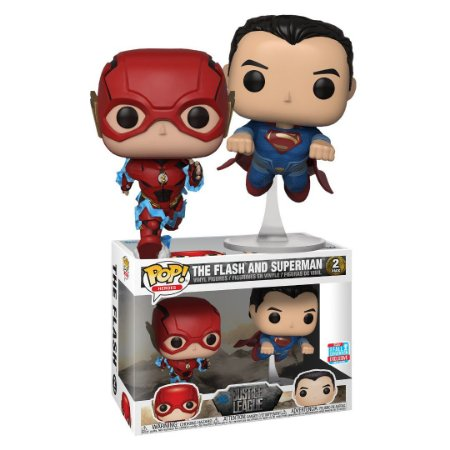 Funko Pop DC Justice League Flash & Superman 2-Pack