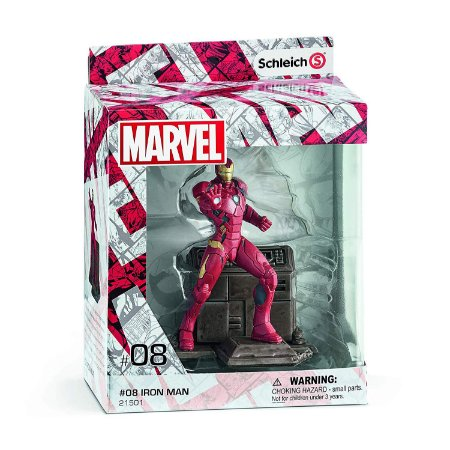 Schleich Marvel 08 Iron Man Diorama Action Figure