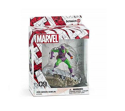 Schleich Marvel 09 Green Goblin Diorama Action Figure