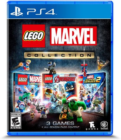 Lego Marvel Collection 3 Jogos - PS4