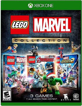 Lego Marvel Collection 3 Jogos - Xbox One