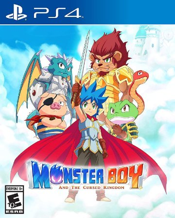 Monster Boy and the Cursed Kingdom - PS4