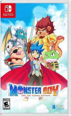 Monster Boy and the Cursed Kingdom - Switch