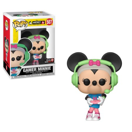 Funko Pop Disney 90 Years 507 Gamer Minnie Exclusive
