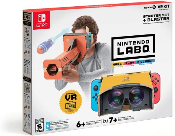 Nintendo Labo Toy-Con 04 VR Kit Starter Set + Blaster - Switch
