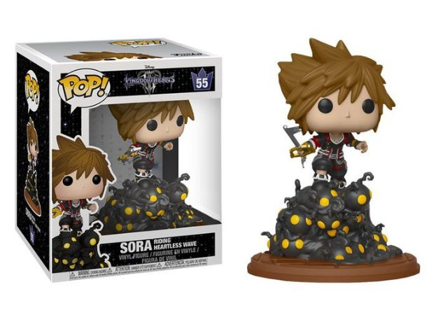 Funko Pop Kingdom Hearts 55 Sora Riding Heartless Wave