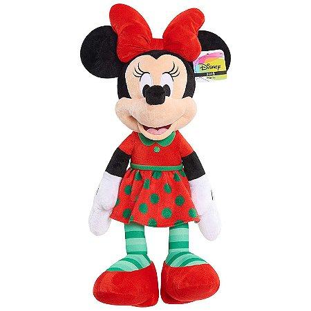 Pelúcia Disney Minnie Mouse Holiday Plush