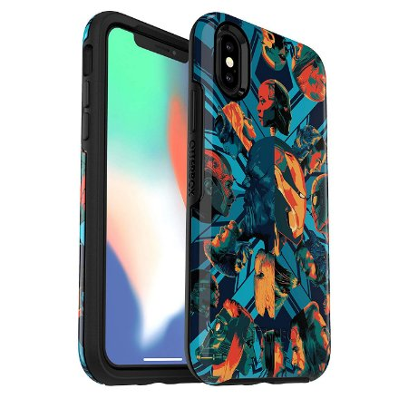 Case iPhone Xs & iPhone X Symmetry Marvel Infinity War