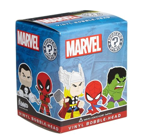Funko Mystery Mini Marvel - 1 Boneco Misterioso