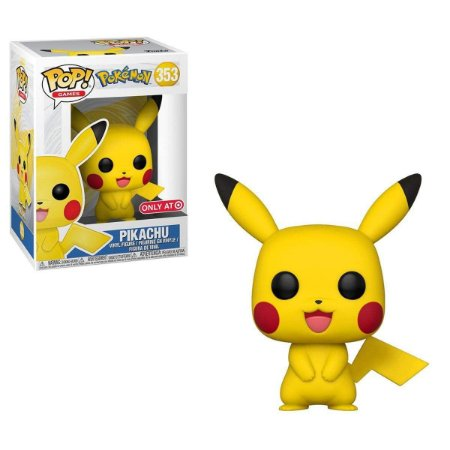 Funko Pop Pokemon 353 Pikachu Exclusive