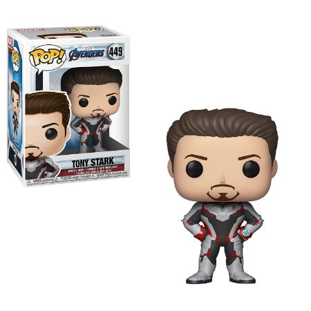 Funko Pop Avengers Endgame 449 Tony Stark Iron Man