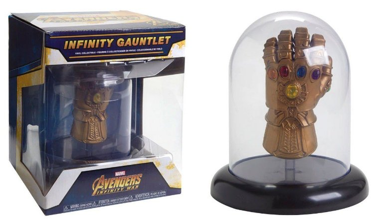 Funko Pop Avengers Infinity War Thanos Gauntlet Dome Exclusive