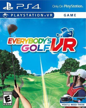 Everybody's Golf - PS4 VR