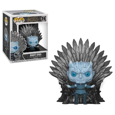 Funko POP Game of Thrones 74 Night King Sitting on Throne