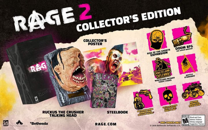 Rage 2 Collectors Edition - PS4