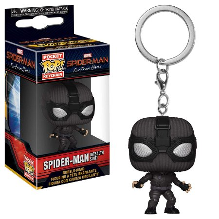 Chaveiro Funko Pocket Pop Spider-Man Far from Home