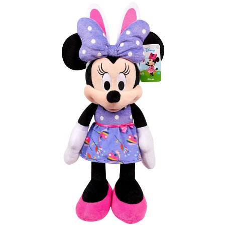 Pelúcia Disney Minnie Mouse Easter Páscoa Plush