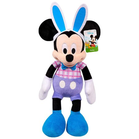 Pelúcia Disney Mickey Mouse Easter Páscoa Plush