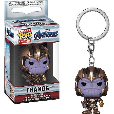 Chaveiro Funko Pocket Pop Avengers Endgame Thanos