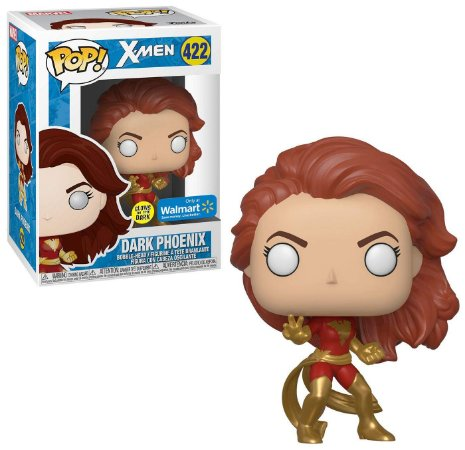 Funko Pop X-Men 422 Dark Phoenix Glows in the Dark