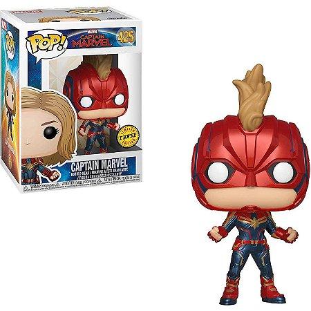 Funko Pop Captain Marvel 425 Captain Marvel Chase Edition