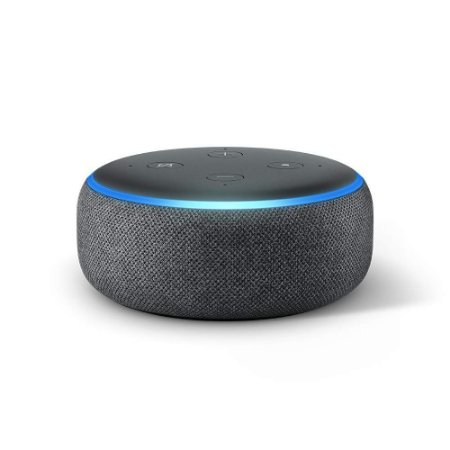 Amazon Echo Dot (3rd Gen) Smart Speaker C/ Alexa - Preto