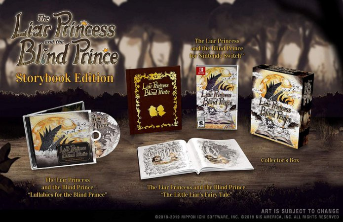 The Liar Princess and the Blind Prince Storybook Ed - Switch