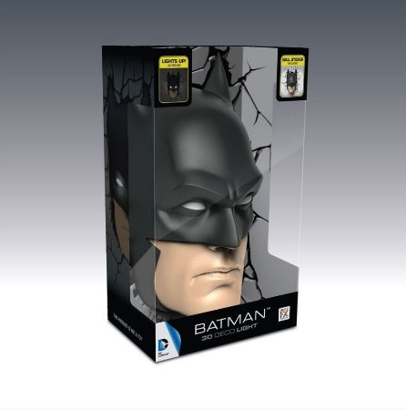 Luminária DC Comics Rosto Batman 3D Light FX