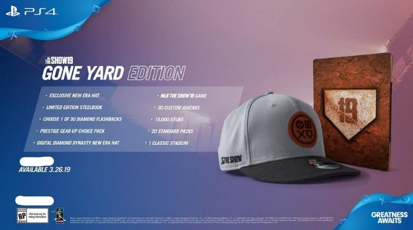 MLB The Show 19 Gone Yard Edition - Ps4