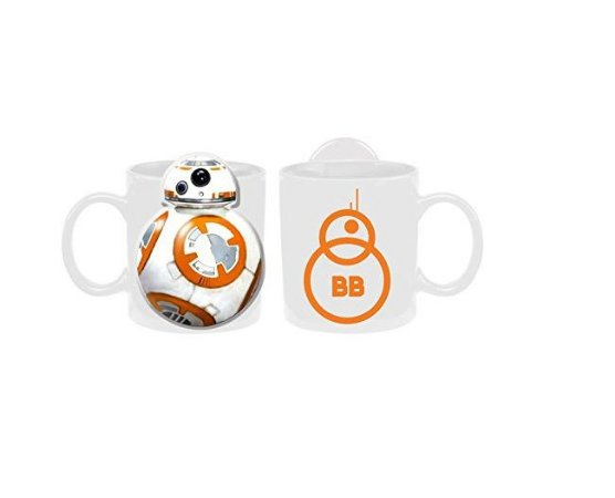 Caneca Star War The Force Awakens BB-8 Mug 591ml