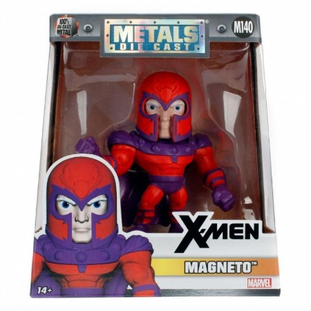 Metals Die Cast Action Figure Marvel Magneto M140 - Jada