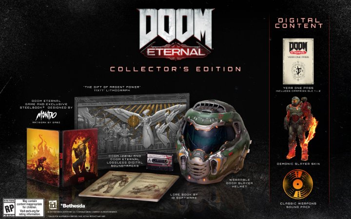 Doom Eternal Collectors Edition - PS4