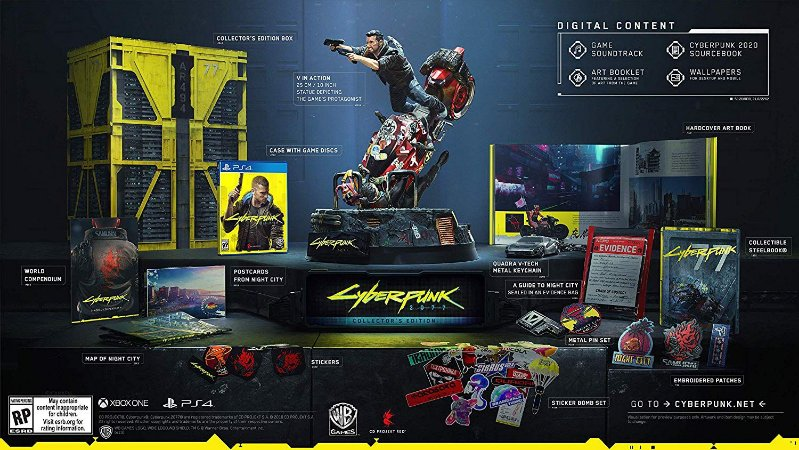 CyberPunk 2077 Collectors Edition - PS4
