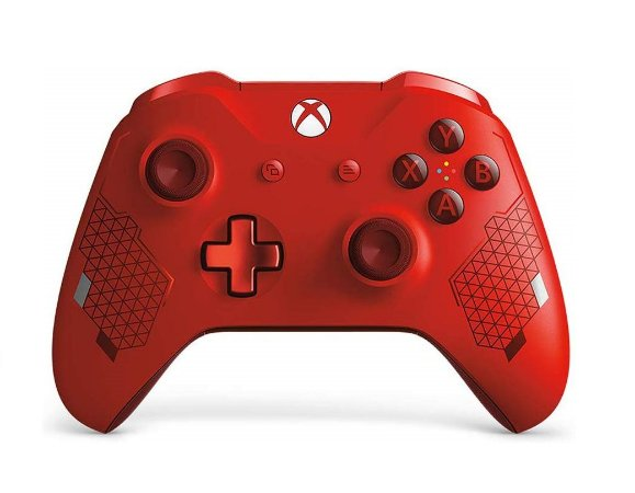 Controle Sem Fio Xbox One Sport Red Special Edition