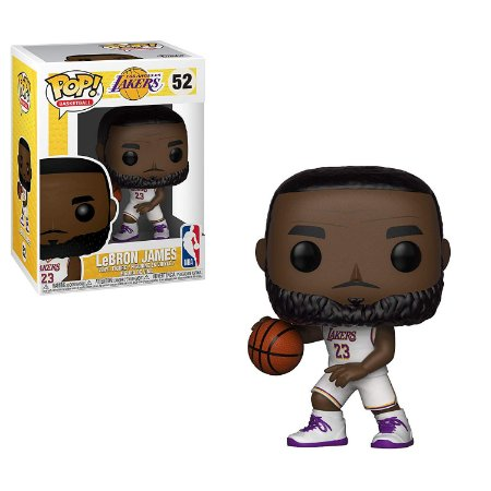 Funko Pop NBA 52 Lebron James Los Angeles Lakers