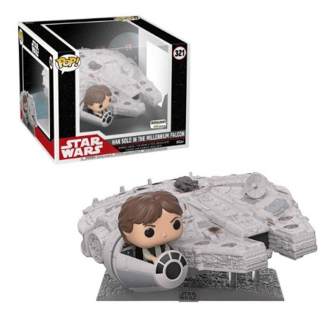 Funko Pop Star Wars 321 Deluxe Millennium Falcon with Han Solo