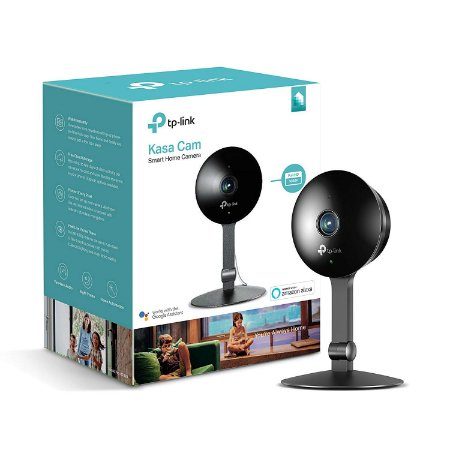 Kasa Cam by TP-Link KC120 WiFi Indoor Camera Alexa & Google Compatível
